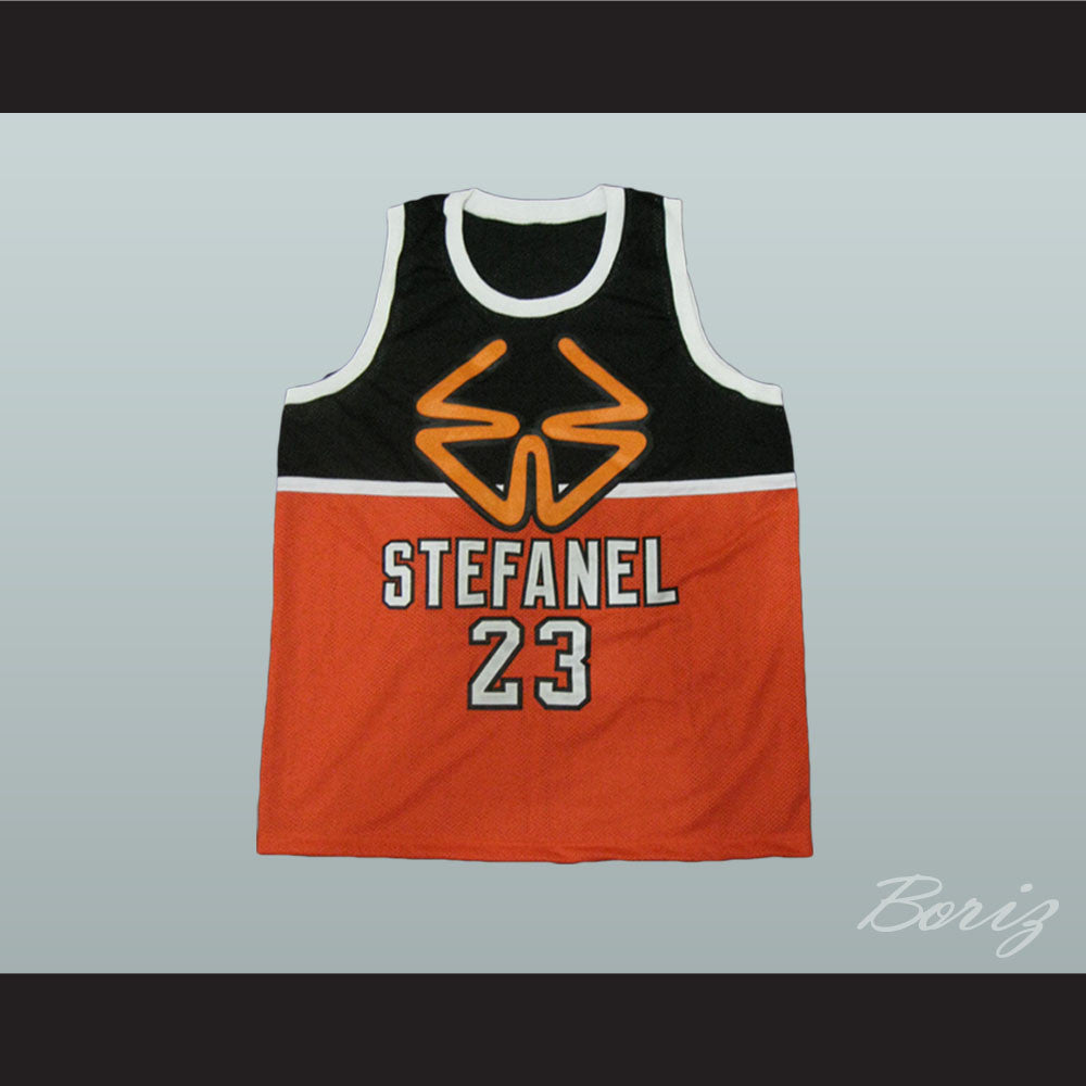 sfobfb 1985 Stefanel Trieste Michael Jordan Exhibition Game Basketball Jersey
