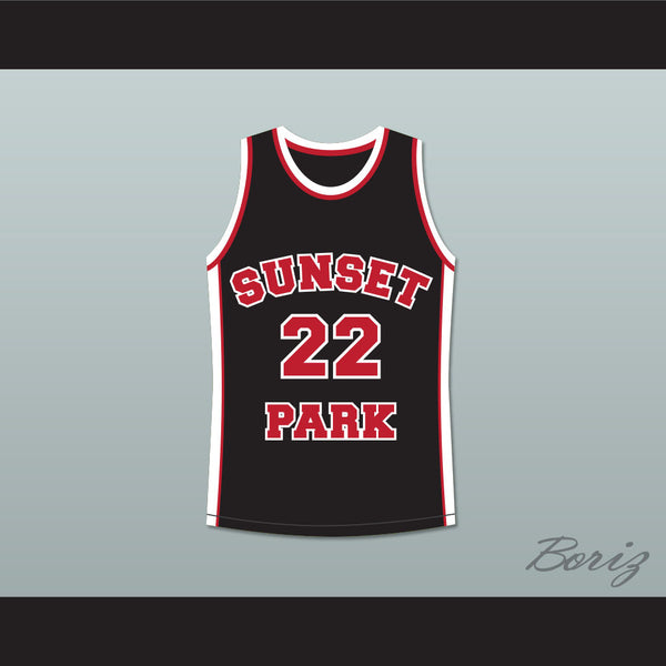 Antwon Tanner Drano 22 Sunset Park Black Basketball Jersey - borizcustom