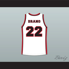 Antwon Tanner Drano 22 Sunset Park White Basketball Jersey - borizcustom