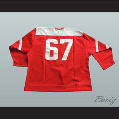 Swiss National Team Hockey Jersey Any Player or Number - borizcustom - 2