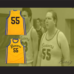 Mark Holton Chubby 55 Beacon Beavers Basketball Jersey - borizcustom