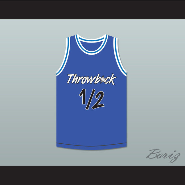 Anfernee Penny Hardaway Lil Penny 1/2 Throwback Blue Basketball Jersey - borizcustom - 1