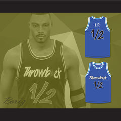 Anfernee Penny Hardaway Lil Penny 1/2 Throwback Blue Basketball Jersey - borizcustom - 3