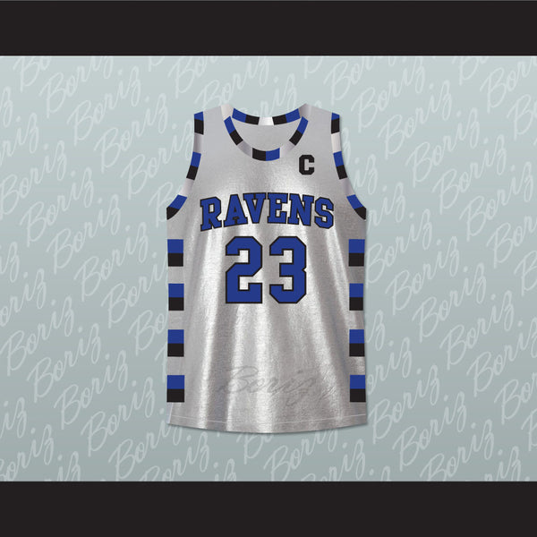 Nathan Scott 23 One Tree Hill Ravens Silver Basketball Jersey Any Player - borizcustom