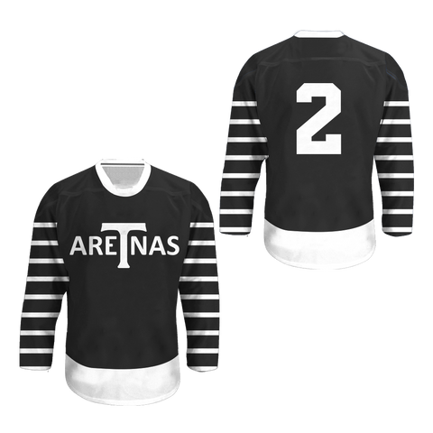 1918-19 Toronto Arenas Hockey Jersey Colors
