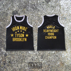 IRON MIKE TYSON BROOKLYN BOXING JERSEY by HARD - borizcustom - 3