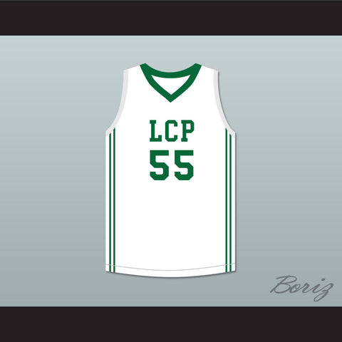 Tacko Fall 55 Liberty Christian Prep Lions White Basketball Jersey