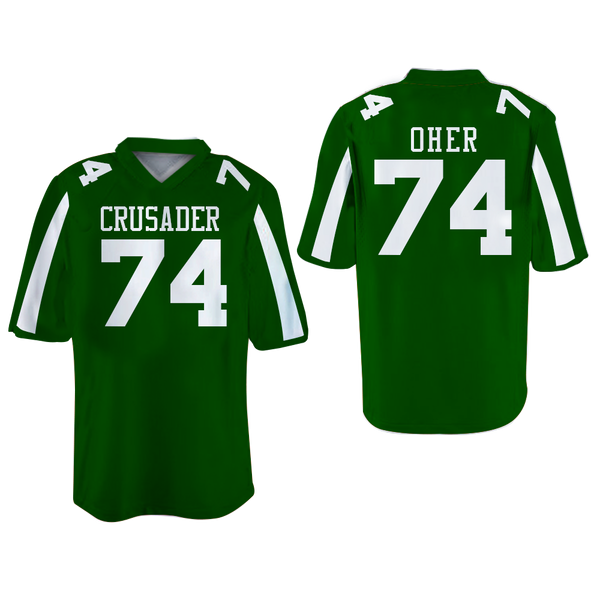 The Blind Side Michael Oher 74 Crusaders High School Football ...