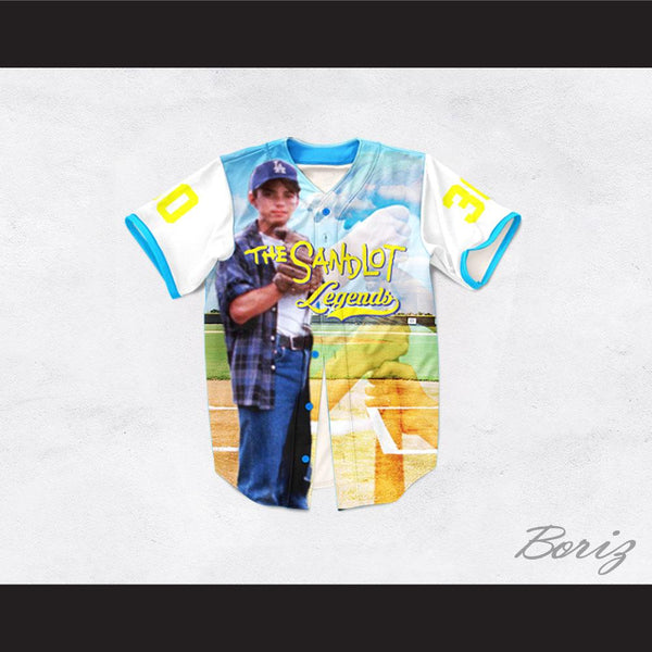 Benny Rodriguez 30 The Sandlot Legends Baseball Jersey