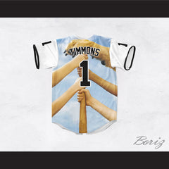 Timmy Timmons 1 The Sandlot Legends Baseball Jersey