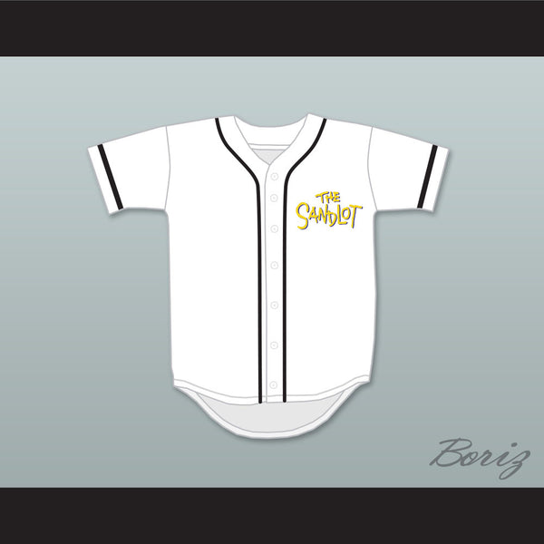 Benny 'The Jet' Rodriguez 30 Baseball Jersey The Sandlot - borizcustom - 1