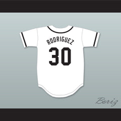 Benny 'The Jet' Rodriguez 30 Baseball Jersey The Sandlot - borizcustom - 2