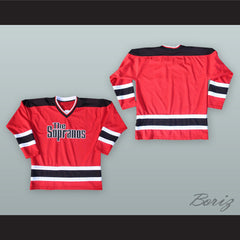 The Sopranos Red Hockey Jersey