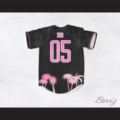 Notorious B.I.G. 05 Think Big Baseball Jersey Design 4