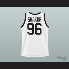 Thug Life 2Pac Shakur White Basketball Jersey Any Number or Player - borizcustom - 2