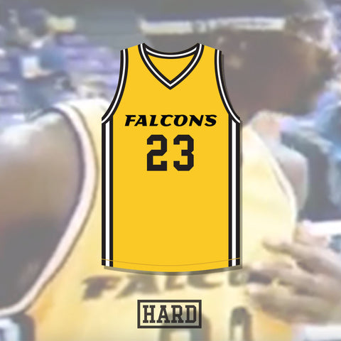 Tivonte Walker 23 Jacksonville Falcons Basketball Jersey by HARD