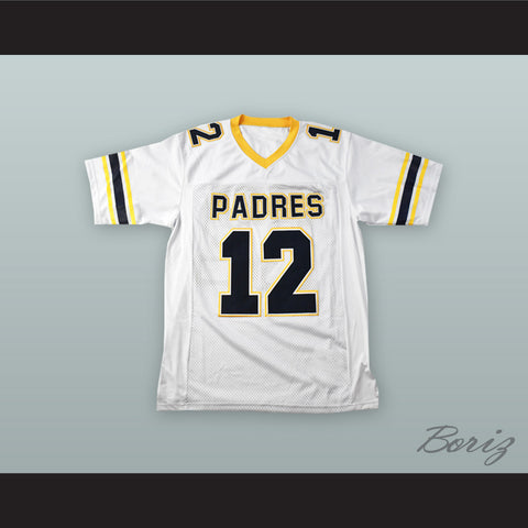 Tom Brady 12 Junipero Serra Padres High School White Football Jersey