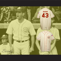 Tom Hanks Jimmy Dugan Rockford Peaches Baseball Jersey Stitch Sewn - borizcustom - 3