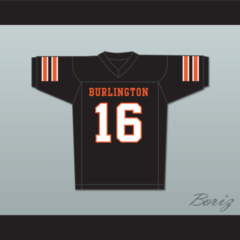 Tony Romo 16 Burlington High School Demons Black Football Jersey