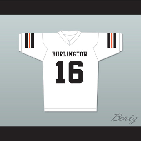 Tony Romo 16 Burlington High School White Football Jersey