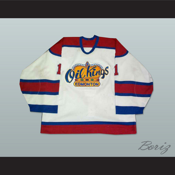 Torrie Jung Edmonton Oil Kings Hockey Jersey New Stitch Sewn - borizcustom