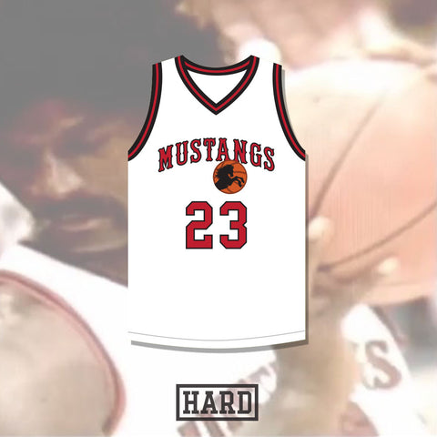 Tyrone Freeman 23 Montana Mustangs Basketball Jersey by HARD