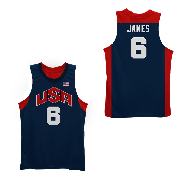 reputable site 3d639 92ad0 Lebron James 23 Fighting Irish High School Black Basketball Jersey USA  Colors
