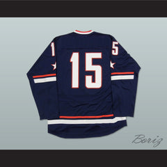 USA National Team Blue Hockey Jersey Any Player or Number - borizcustom - 2