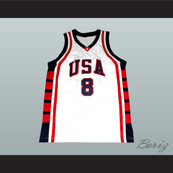 huge discount 37f04 c9fb0 Carmelo Anthony National Team Basketball Jersey Any Player or Number