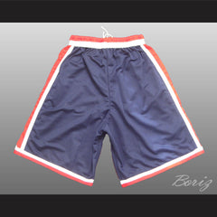 USA Dream Team Basketball Shorts Red and Blue All Sizes NEW - borizcustom - 2
