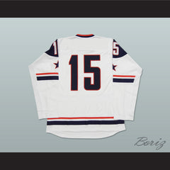 USA National Team White Hockey Jersey Any Player or Number - borizcustom - 2