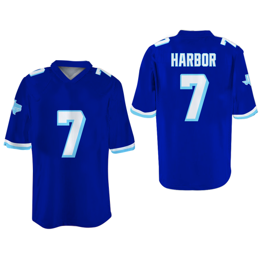 Colors Lance Harbor West Canaan Coyotes Football Jersey Varsity Blues Paul  Walker bfbbd24434