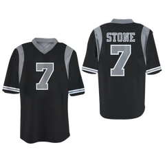 Victor stone Football Jersey Stitch hero Comics