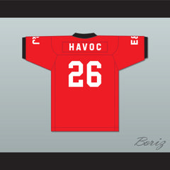 Havoc 26 V.S.O.P. Red Football Jersey Quiet Storm 2001 Source Awards