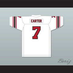 1974 WFL Virgil Carter 7 Chicago Fire Home Football Jersey