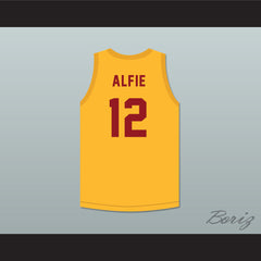 Alfred 'Alfie' Parker 12 Westlake Charlotte Grammar School Basketball Jersey My Brother and Me - borizcustom