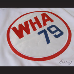 Gordie Howe 9 Hockey Jersey WHA 79 Stitch Sewn Any Size Any Name Any Number New - borizcustom - 6