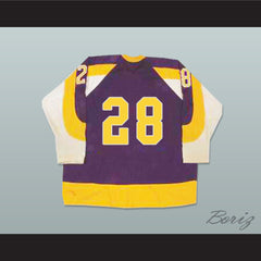 WHA New York Golden Blades Hockey Jersey Stitch Sewn NEW - borizcustom - 2