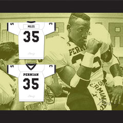 Historical Boobie Miles 35 Permian High School Panthers Football Jersey - borizcustom - 3
