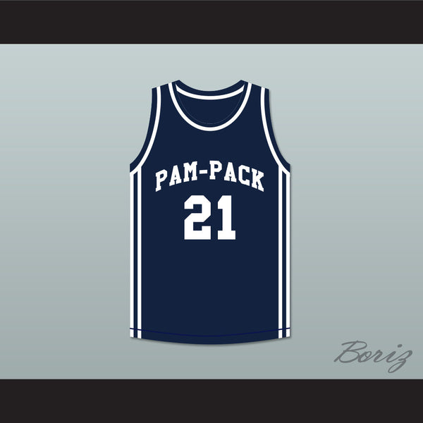 Dominique Wilkins 21 Washington High School Pam-Pack Basketball Jersey - borizcustom
