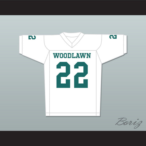 Tony Nathan 22 Woodlawn Colonels High School Away Football Jersey - borizcustom