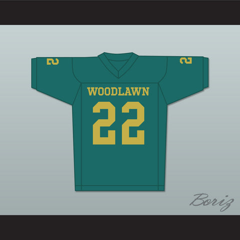 Tony Nathan 22 Woodlawn Colonels High School Home Football Jersey - borizcustom