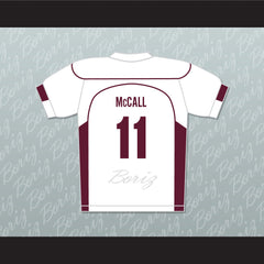 Scott McCall 11 Beacon Hills Cyclones Lacrosse Jersey Teen Wolf TV Series New - borizcustom - 2