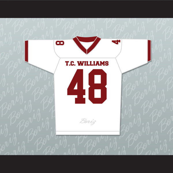 Ryan Gosling Alan Bosley T. C. Williams High School Titans Football Jersey - borizcustom
