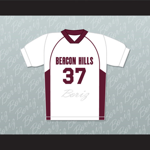 Jackson Whittemore 37 Beacon Hills Cyclones Lacrosse Jersey Teen Wolf TV Series New - borizcustom