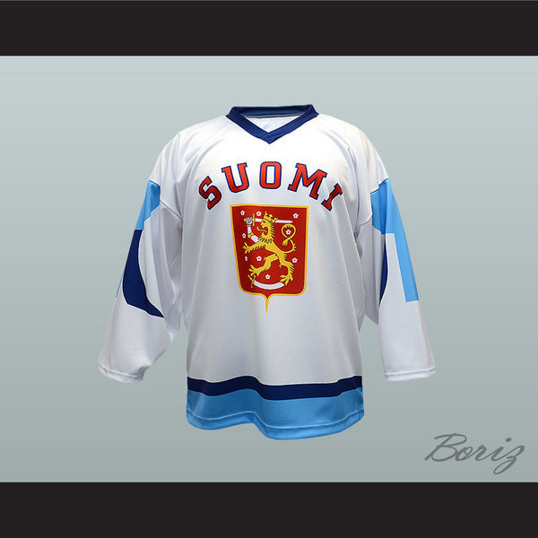 Finland Suomi National Team Hockey Jersey Any Player or Number New - borizcustom