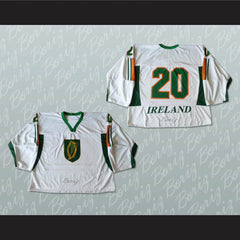 Ireland 20 Hockey Jersey Stitch Sewn New Any Player or Number - borizcustom