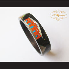 P Middleton Camagong Wood Bangle Elaborate Micro Inlay Design 8 - borizcustom - 8