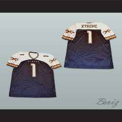 Los Angeles Xtreme Football Jersey Stitch Sewn New - borizcustom