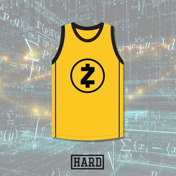 Zooko Wilcox-O'Hearn 0 Zcash Basketball Jersey Crypto League by HARD